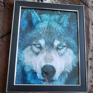 🌻 wolf art portrait 🌻